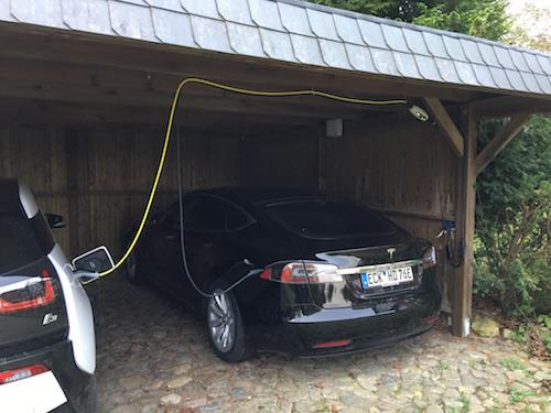 Laden von Elektroautos zu Hause alles über Wallbox, mobile ...